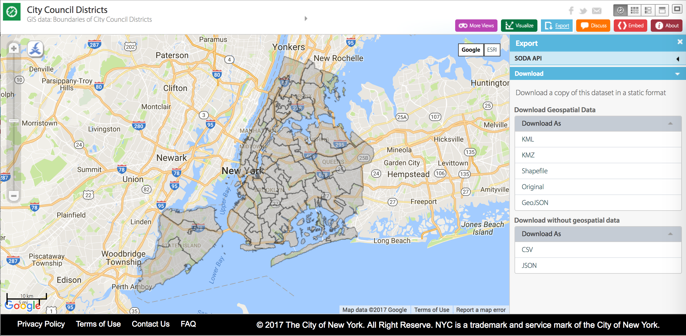 Make a digital map with Carto   NYCommons Carto Maps on